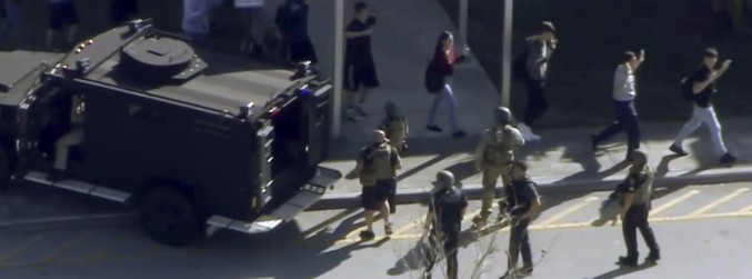 17 people dead following shooting at south Florida high school
