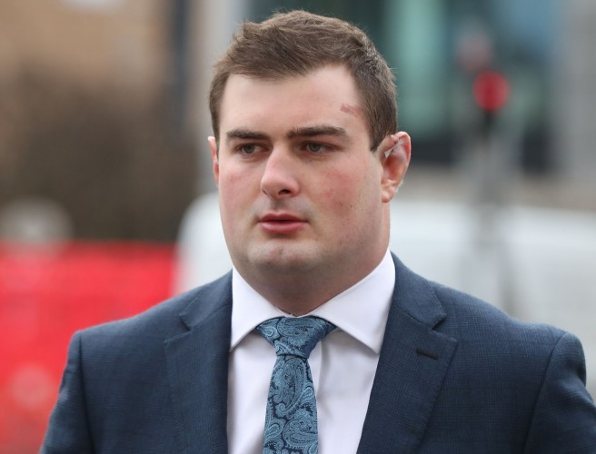 "Belfast rape trial: Harrison told police woman was ""fixated with"" Paddy Jackson"
