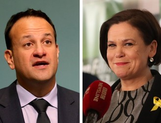 Sinn Féin leaders to meet with Taoiseach and Tánaiste over collapse of Stormont talks