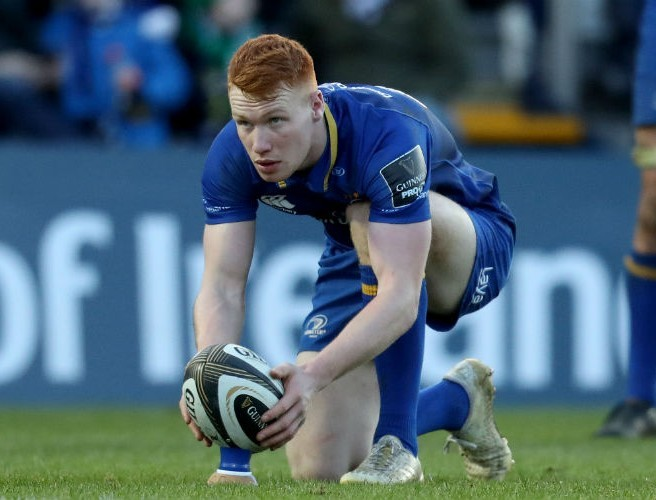 Leinster debutant was 'bricking it' as he helped kick Blues to victory
