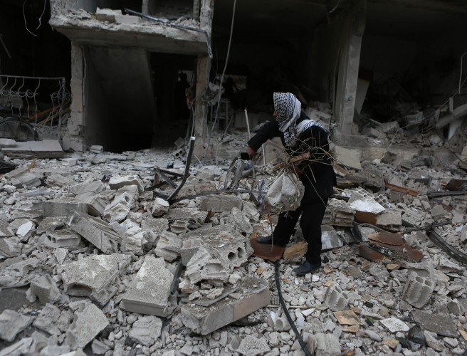 """Calmest night"" for eastern Ghouta following UN ceasefire resolution"
