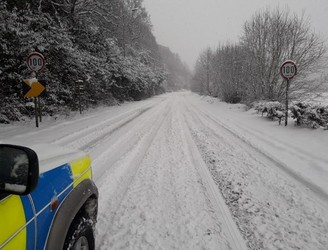 "Gardaí warn public to remain off roads with many ""impassable"""