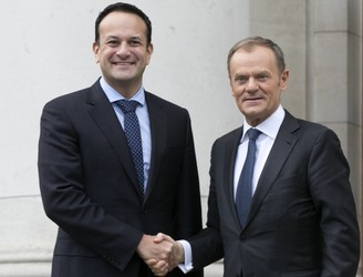 "Donald Tusk pledges ""Ireland first"" approach to Brexit negotiations"