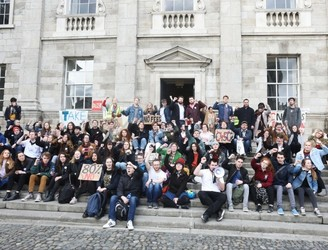 "Trinity students vow to continue protest for ""as long as it takes"""