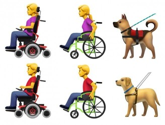 Apple proposes set of new emoji to represent people with disabilities