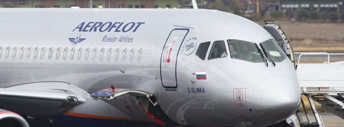 Russia claims Aeroflot plane was searched in London 'by UK authorities'