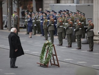 PICTURES: Ceremonies take place to remember those who died during 1916 Rising