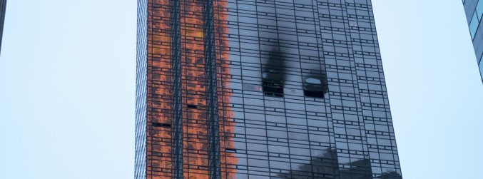 One man dies following fire at Trump Tower in New York