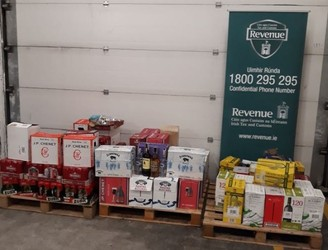 More than 540 litres of alcohol seized at Dublin Port