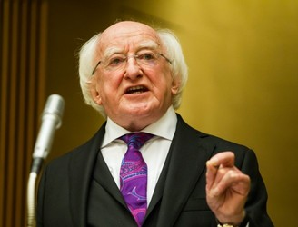 Michael D Higgins to address United Nations during US visit