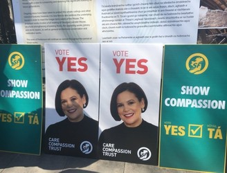 Sinn Féin launches poster campaign calling for 'Yes' vote in Eighth Amendment referendum