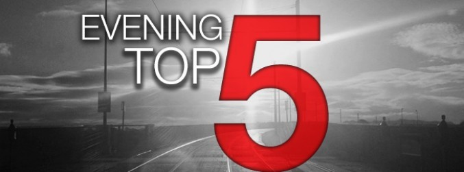 Evening top 5: Opposing campaigns both welcome latest abortion poll results; DJ Avicii dies aged 28