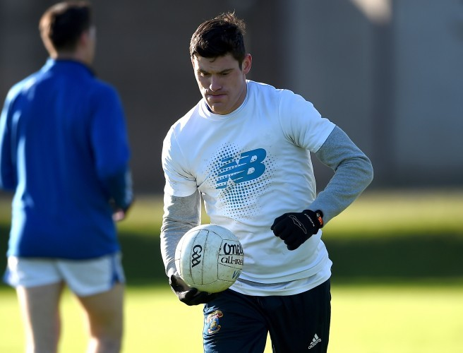 St. Vincents' Diarmuid Connolly warms up. Image: ©INPHO/Tommy Grealy