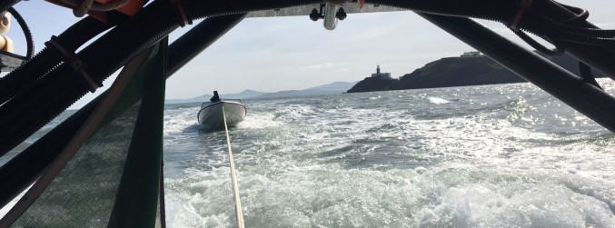 Five people rescued from sinking boat in Dublin Bay