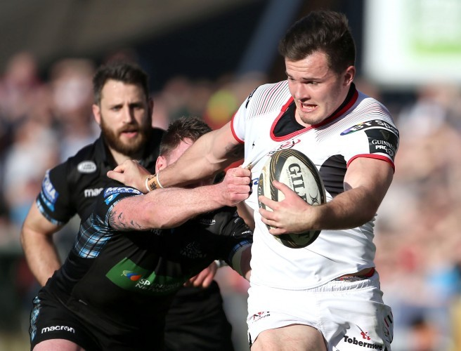 Ulster's Jacob Stockdale. Image: ©INPHO/Brian Little