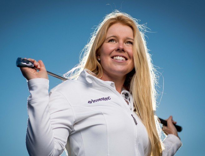 Stephanie Meadow says U.S collegiate golf program has been crucial for her career