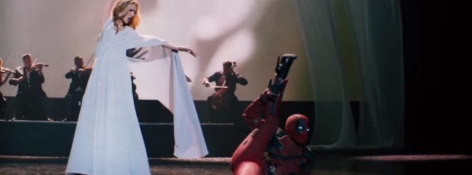 "WATCH: ""Beat it, Spiderman"" - New Céline Dion video gets the 'Deadpool' treatment"