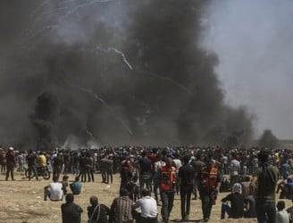 Further demonstrations expected in Gaza after dozens of Palestinians killed by Israeli forces