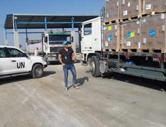 UNICEF delivers health supplies for 70,000 people in the Gaza Strip