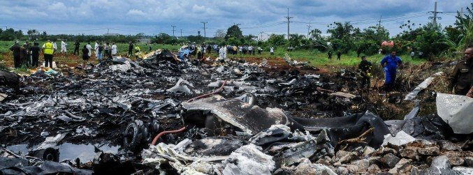 More than 100 people dead following plane crash in Cuba