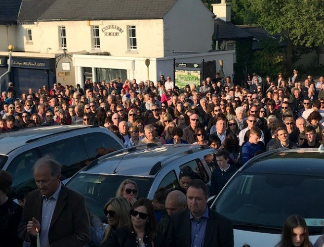 Hundreds attend vigil for Jastine Valdez in Enniskerry