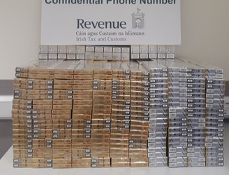 Revenue seizes 45,000 cigarettes at Dublin Airport