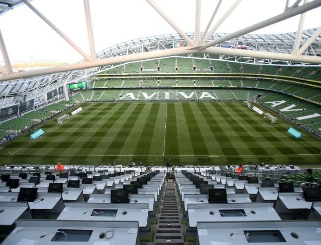 Dates announced for Euro 2020 finals matches in Dublin