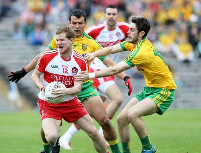 """I would just worry about where Derry would get the scores to beat Donegal"""