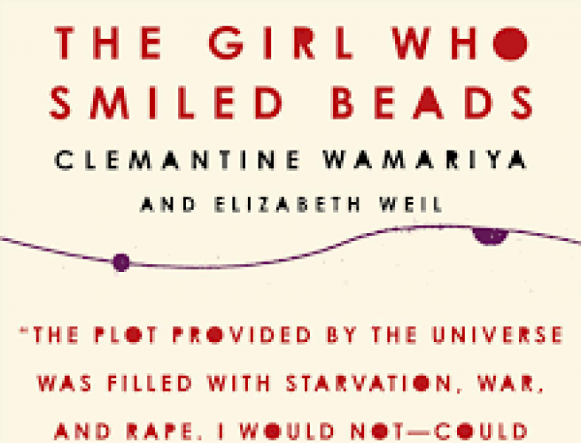 The Girl Who Smiled Beads, book cover