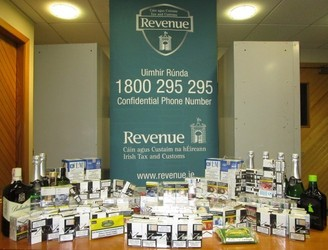 Smuggled alcohol and tobacco products seized in Dublin and Wexford