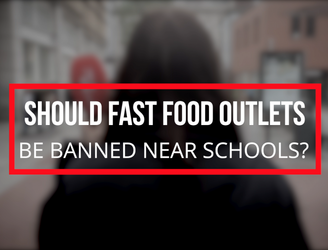 WATCH: Newstalk Asks // Should fast food outlets be banned near schools?