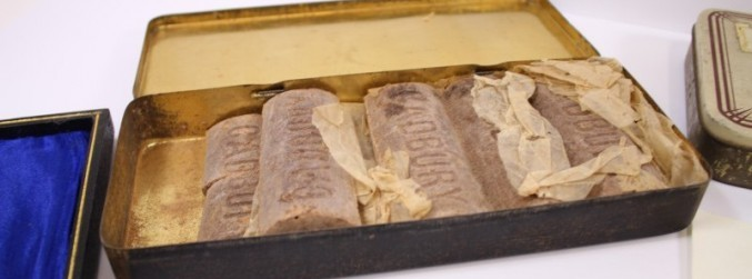 Century-old Cadbury chocolate to be auctioned in the UK