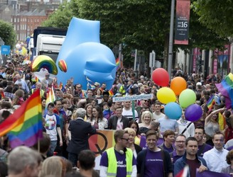 Route revealed for Dublin's 2018 Pride Parade