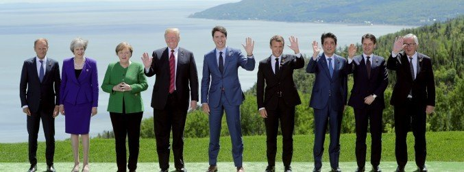 G7 summit: Other leaders reject Donald Trump's call to reinstate Russia