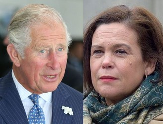 Mary Lou McDonald holds private meeting with Prince Charles in Cork