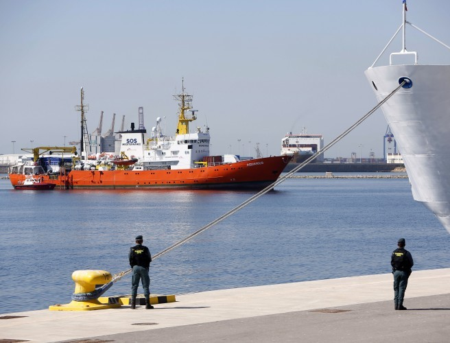 """Politics has been put before the lives of people"" EU governments slammed as Aquarius docks"