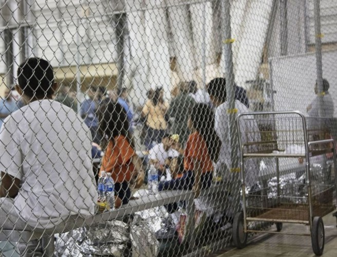 Photos Of Children In Cages At US Border Emerge