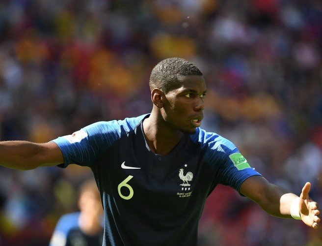 France' s Paul Pogba during the World Cup 2018. Image:  Liewig Christian/ABACA/ABACA/PA Images