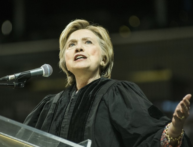 Trinity College to hand honorary degree to Hillary Clinton