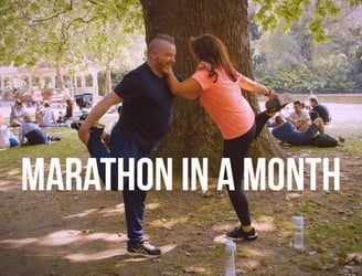 WATCH: Could you run a marathon in a month?