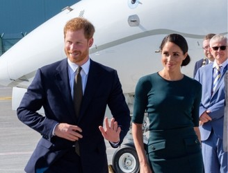 Britain's Prince Harry and Meghan Markle have arrived in Ireland