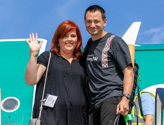 Irish-based diver returns home to hero's welcome after role in Thai cave rescue