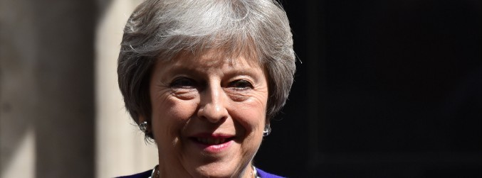 May to reaffirm no hard border commitment on Northern Ireland visit