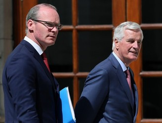 Coveney meets Michel Barnier as EU ministers are updated on Brexit