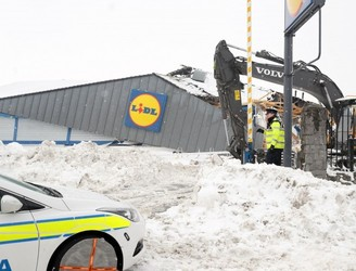 Dublin Lidl store destroyed during Storm Emma to reopen next month