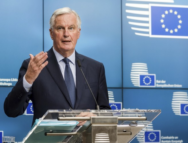 "No backstop, no deal - Barnier demands ""legally operative"" Irish border solution"