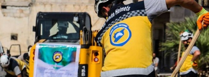 Hundreds of Syria White Helmets evacuated to Jordan by Israel