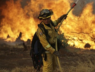 Five dead and 17 missing in California wildfires