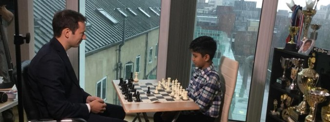 Family of nine-year-old chess prodigy given permission to stay in UK