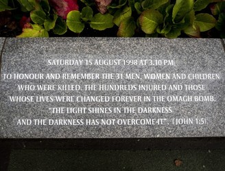 Ceremonies held to mark 20th anniversary of Omagh bombing